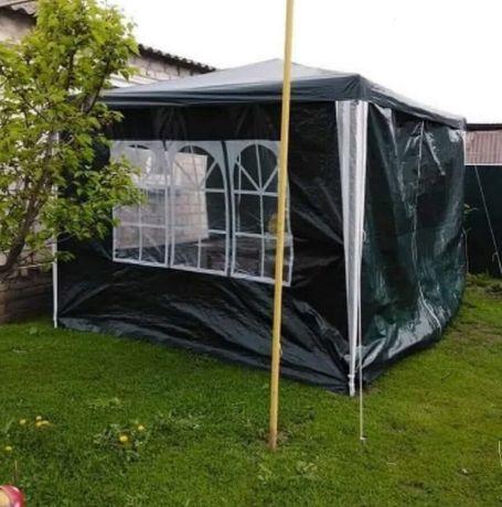 Садовий павільйон , намет 3х3 м (Зелений)