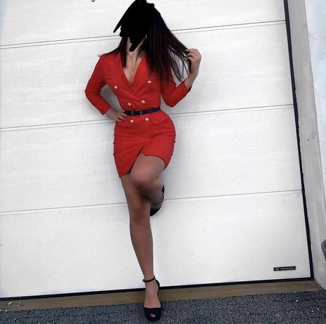 Sukienka elegancka marynarkowa