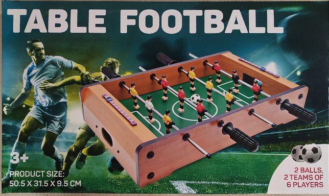 piłkarzyki Table Football, drewniane, wysyłka w cenie