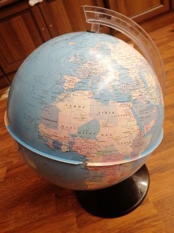 глобус украинский 30 см 50 см