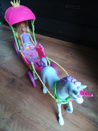 Okazja!!! Lalka Barbie z karetą i koniem