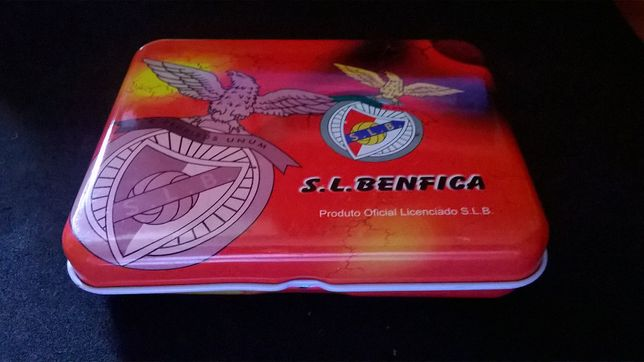 Caixa metálica do S. L. Benfica