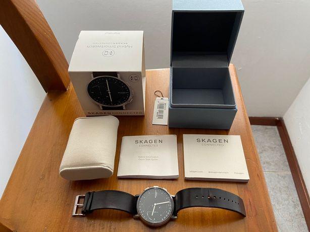 Relógio híbrido Skagen Hybrid Smartwatch
