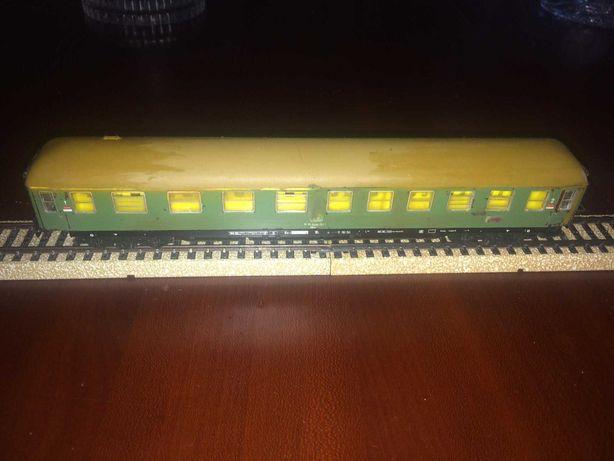 Carruagem de passageiros comboio Marklin Escala HO circuito analógico
