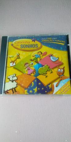 Cd + DVD de música Caixinha de sonhos