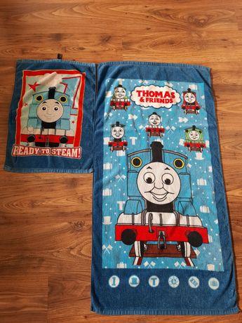 Ręcznik Tomek i przyjaciele kąpielowy duży i mały komplet