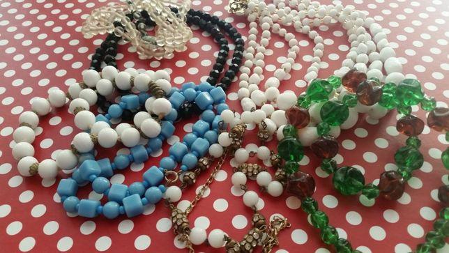 Vintage - colares variados de várias épocas