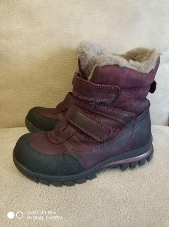 Ботинки зима нат.кожа и мех.