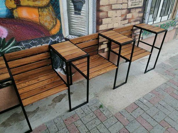 Скамейки в стиле лофт. Столы, стулья, мебель любой сложности.