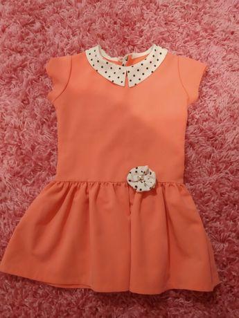 Elegancka sukienka dla dziewczynki rozmiar 104