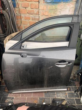 Mazda CX - 3 2015 - 2020 дверь передняя, дверь задняя