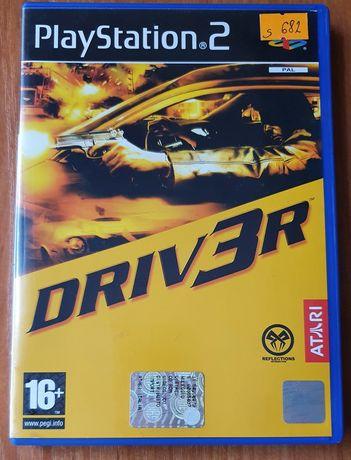Gra na PS2 DRIVER 3