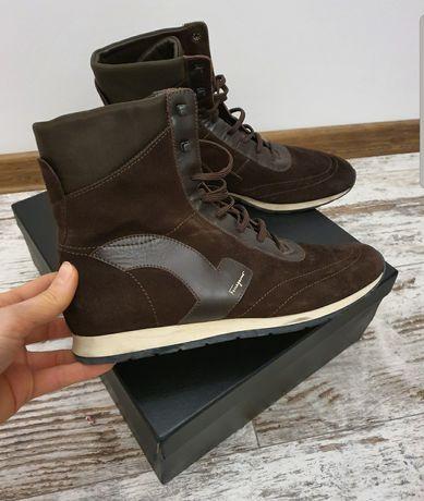 Кроссовки Salvatore Ferragamo высокие кроссовки 41 кроссовки Феррагамо