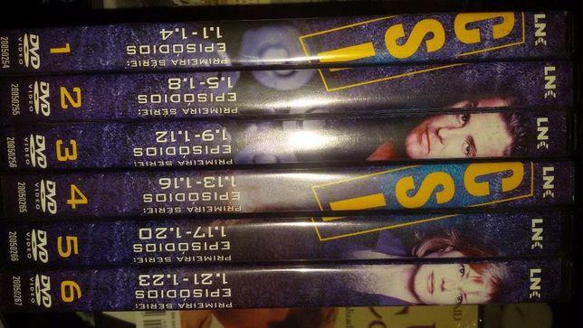 Serie c.s.i DVD