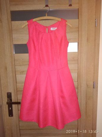 Sukienka+płaszcz komplet
