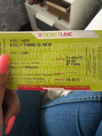 Voucher Everything Is New NOS ALIVE