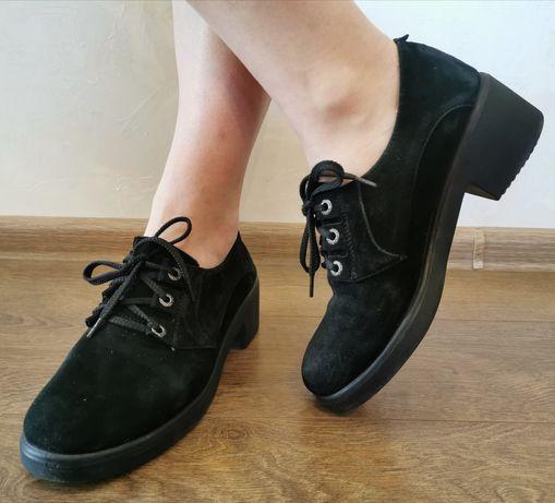 Туфлі жіночі SINIORA замша 38р, туфли женские