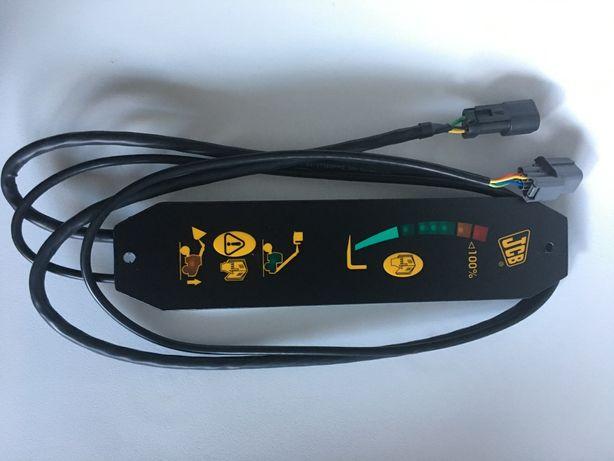 Jcb wyświetlacz wskaźnik monitor obciążenia wideł