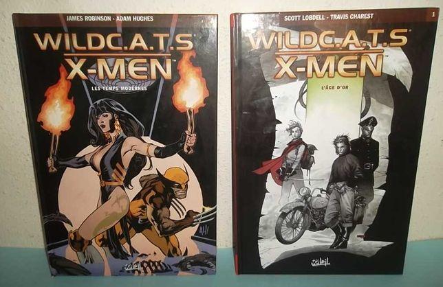 WildC.A.T.S / X-Men - 2 volumes em capa dura