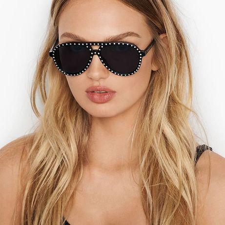 Солнцезащитные очки+футляр известного бренда VS Виктория Сикрет