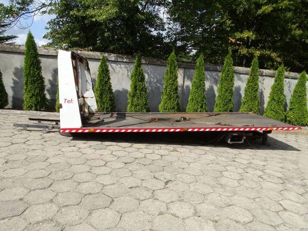 Najazd Hydrauliczny Pomoc Drogowa + Wciągarka
