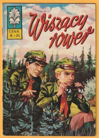 Kapitan Żbik - Wiszący rower - 1973 - wydanie pierwsze