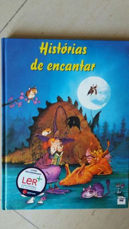 Livro histórias de encantar