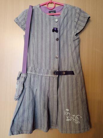Красивые платья для школы (рост до 135) Mexx, Zara Kids