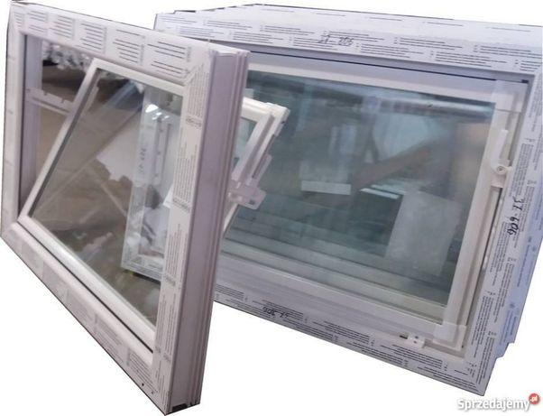 Okna Inwentarskie PCV bez metalu okna gospodarcze NOWE