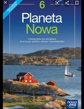 Planeta Nowa 6 klasa podręcznik do geografii, książka, testy