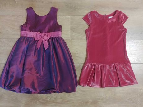 Jak nowa Smyk H&M sukienka dla dziewczynki 128