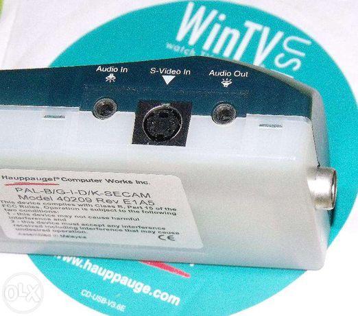 Win-TV-USB тюнер Hauppauge