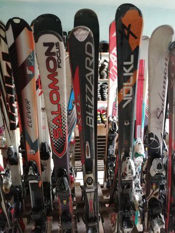 Narty, buty narciarskie, buty biegowe