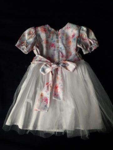 Sukienka do chrztu +bolerko+gratis buciki rozm.74