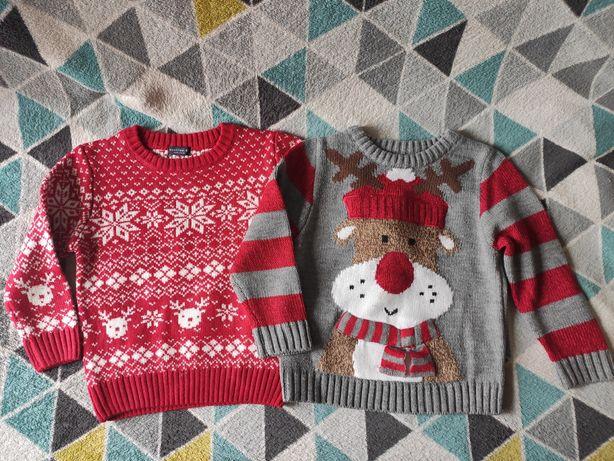 Новогодний свитер Next, George 4 года