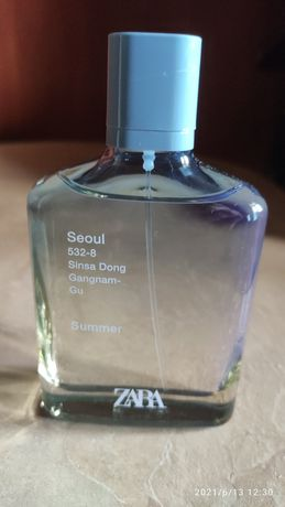 Парфум Zara Seoul Summer 100 мл.