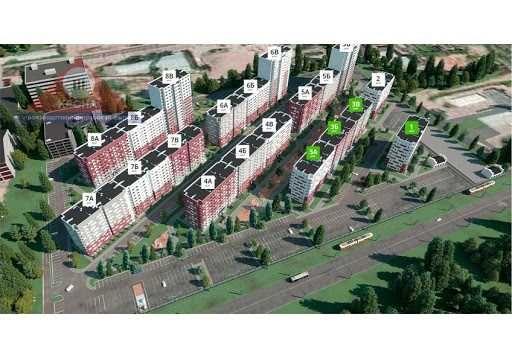 АКция! Новострой ЖК Гидропарк 1к квартира Возле реки