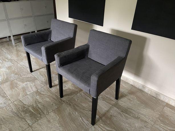 Krzesła fotele IKEA Nils x2