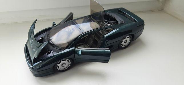 Машинка модель jaguar xj220 maisto 1/24