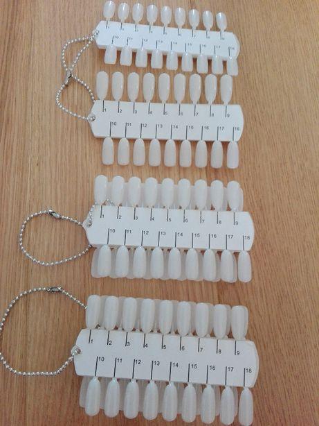 Podwójny wzornik do paznokci, lakierów - 36 tipsów