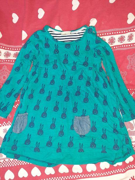 Детские платье туника на девочку next