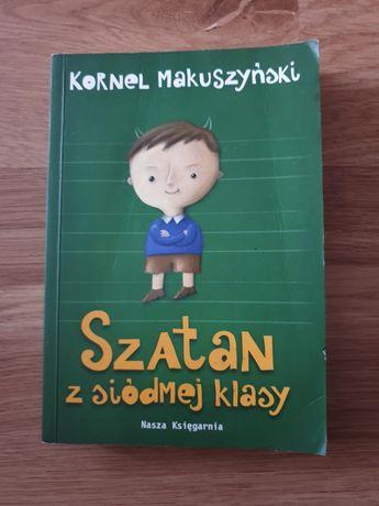 """""""Szatan z siódmej klasy"""" K.Makuszyński"""