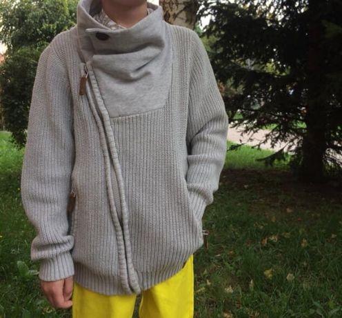 Sweter asymetryczny 122cm