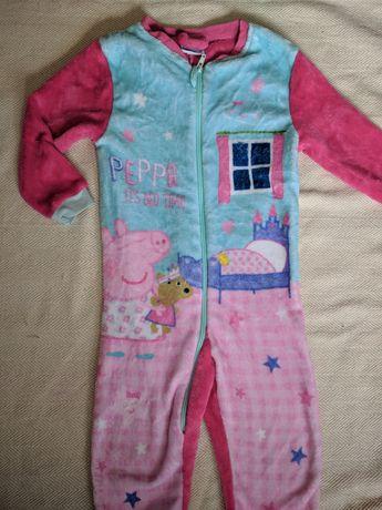 Пижама Пеппа 3-4 года 98-104 см рост Пеппа свинка слип человечек пижам