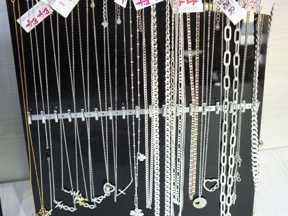 **Nowe wyroby srebrnej biżuterii-Lombard Stówka**