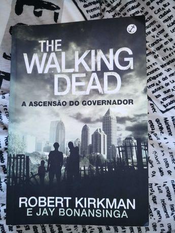 Livro The walkind dead a ascensão do governador, de Robert Kirkman