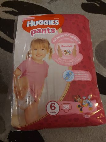 Huggies pants 6 памперсы-трусики