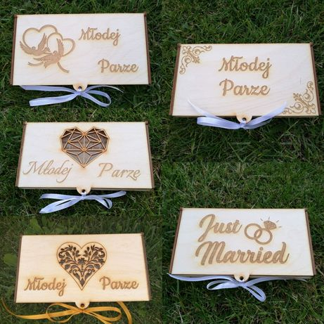 Pudełko na pieniądze, ślub, prezent