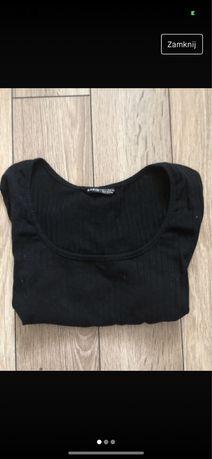 bluzka shein czarna