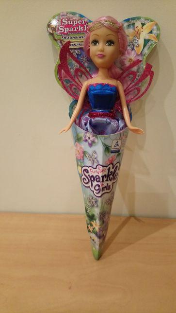 Kwiatowa wróżka lalka typu Barbie Super Sparkly nowa na prezent